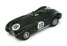 IXO Models LM1953 Jaguar XK120 C #18 'Tony Rolt - Duncan Hamilton' winner Le Mans 1953