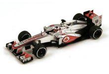Spark Model S3052 McLaren MP4-28 #5 'Jenson Button' 9th pl Australian Grand Prix 2013