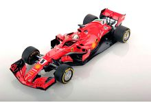 Look Smart Models LSF1013 Ferrari SF71H #5 'Sebastian Vettel' winner Australian Grand Prix 2018