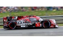 Spark Model S7001 Rebellion R13 #1 'Andre Lotterer - Neel Jani - Bruno Senna' 4th pl Le Mans 2018