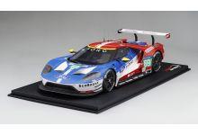 FORD GT #68 LMGTE PRO 2016 Le Mans 24h Winner Müller Chip Ganassi USA TSM 1:18