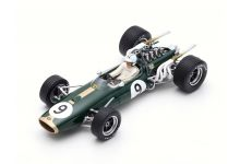 Spark Model 18S370 Brabham BT20 #9 'Denis Hulme' Winner Monaco Grand Prix & F1 World Champion 1967