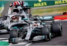 Spark Model 18S464 Mercedes-AMG Petronas Motorsports F1 Team #44 'Lewis Hamilton' Winner British Grand Prix 2019