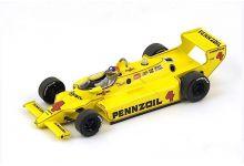 Spark Model 43IN80 Chaparral 2K #4Pennzoil 'Johnny Rutherford' winner Indy 500 1980