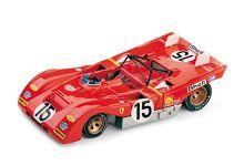 Brumm R259 Ferrari 312PB #2 'Jacky Ickx - Clay Regazzoni' 1000Km of Monza 1971