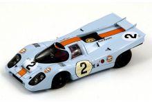 Spark Model 43DA71 Porsche 917K #2 'Pedro Rodriguez - Jackie Oliver' winner 24 hrs of Daytona 1971