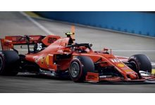 LookSmart Models LSF1026 Ferrari SF90 #16 'Charles Leclerc' 2nd pl Singapore Grand Prix 2019