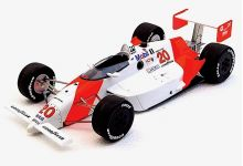 Replicarz R18031 Penske PC18 Marlboro #20 'Emerson Fittipaldi' winner Indy 500 1989