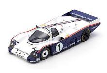 Spark Model S4086 Porsche 962 C #1 Rothmans 'Jacky Ickx - Jochen Mass - Derek Bell' 10th pl Le Mans 1985