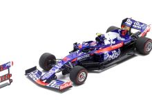 Spark Model S6047 Toro Rosso Honda STR14 #10 'Pierre Gasly' 2nd pl Brazilian Grand Prix 2019