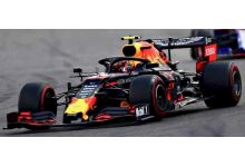 Spark Model S6095 Aston Martin Red Bull Racing RB15 F1 Team #23 'Alexander Albon' Belgian GP 2019