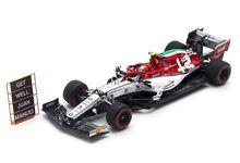 Spark Model 6098 Alfa Romeo Racing Sauber F1 Team C38 #99 'Antonio Giovinazzi' Italian Grand Prix 2019