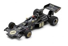 Spark Model S7127 Lotus 72E JPS #1 'Emerson Fittipaldi' winner Spanish GP 1973