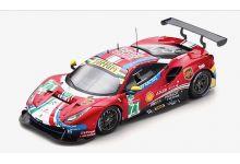LookSmart Models LSLM092 Ferrari 488 GTE Evo AF Corse #71 'Sam Bird - Miguel Molina - Davide Rigon' DNF Le Mans 2019