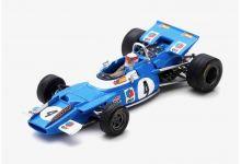 Spark Model S7191 Matra MS80 #4 'Jackie Stewart' Winner Dutch GP & F1 World Champion 1969