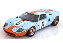 Spark Model 18LM68 Ford GT40 Gulf #9 'Pedro Rodriguez - Lucien Bianchi' Winner Le Mans 1968