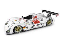 Spark Model 18LM97 TWR Joest Hagenuk / Fat Turbo #7 'Michele Alboreto - Stefan Johansson - Tom Kristensen' Winner Le Mans 1997