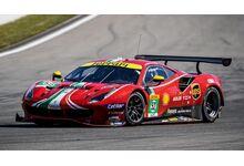 LookSmart Models LSLM122 Ferrari 488 GTE EVO #52 AF Corse 'Daniel Serra - Miguel Molina - Sam Bird' Le Mans 2021