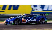 LookSmart Models LSLM123 Ferrari 488 GTE EVO #47 Cetilar Racing 'Roberto Lacorte - Giorgio Sernagiotto - Antonio Fuoco' Le Mans 2021