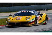 Ferrari 488 GTE EVO #66 JMW Motorsport 'Thomas Neubauer - Rodrigo Sales - Jody Fannin' Le Mans 2021