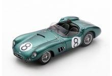 Spark Model S2444 Aston Martin DBR 1 #8 'Ian Baillie - Jack Fairman' 9th pl Le Mans 1960