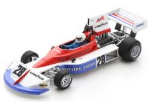 Spark Model S5375 March 751 #21 'Mark Donohue' 5th pl British Grand Prix 1975