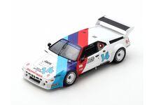 Spark Model US085 BMW M1 #14 'Hans Joachim Stuck - Walter Brun - Alf Gebhardt' 6th pl 24hrs of Daytona 1981