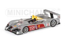 Minichamps 400061602 Audi R10 #2 'Rinaldo Capello - Tom Kristensen - Allan McNish' winner 12 hrs of Sebring 2006