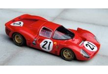 Marsh Models MM169B21 Ferrari 330 P4 SEFAC #21 'Ludovico Scarfiotti - Mike Parkes' 2nd pl Le Mans 1967