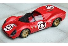 Marsh Models MM193B23 Ferrari 330 P4 Spyder SEFAC #23 'Lorenzo Bandini - Chris Amon' winner 24 hrs of Daytona 1967