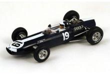 "Spark Model S1859 BRM P261 #19 ""Bob Bondurant"" 4th pl Monaco GP 1966"