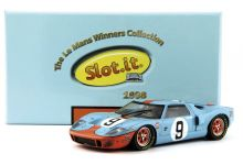 Slot.It SICW16 Ford GT40 Gulf #9 'Pedro Rodriguez - Lucien Bianchi' winner Le Mans 1968
