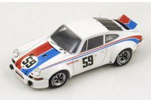 Spark Model 43DA73 Porsche 911 Carrera RSR #59 Brumos 'Peter Gregg - Hurley Heywood' winner 24 hrs of Daytona 1973