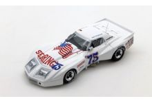 "TrueScale Miniatures TSM114330 Chevrolet Corvette Greenwood #75 Spirit of Sebring ""Greenwood - Muzzin - Shafer"" 24hrs of Daytona 1975"