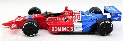 Replicarz R18027 Lola/Chevrolet T90-01 Chevrolet #30 Domino's Pizza 'Arie Luyendyk' Winner Indianapolis 500 1990