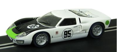 Scalextric C3231 Ford GT40 MkII #95 'Walt Hansgen - Mark Donohue' 3rd pl 24 hrs of Daytona 1966