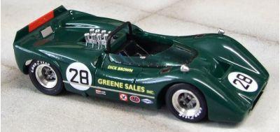 Marsh Models MM277B28 McLaren M6B #28 'Dick Brown' 5th pl Can-Am Bridgehampton 1968