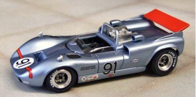 Marsh Models MM283B52 McLaren M1C #52 Dana Chevrolet Racing 'Peter Revson' 3rd pl USRRC Riverside1967