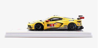 TSM Model TSM430512 Chevrolet Corvette C8.R #3 Corvette Racing 'Antonio Garcia - Jordan Taylor - Nicky Catsburg' 16th pl 24hrs of Daytona 2020