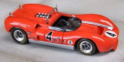 Marsh Models MM276B4 McLaren M1B #4 'Bruce McLaren' 3rd pl Riverside 200 Miles 1965