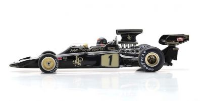 Spark Model S7127 Lotus 72E JPS #1 'Emerson Fittipaldi' winner Spanish GP 1973