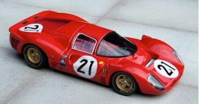 Marsh Models MM169B21 Ferrari 330 P4 SEFAC #21 'Ludovico Scarfiotti - Mike Parkes' 2nd pl Le Mans 1967