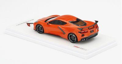 TSM-Models TSM430495 Chevrolet Corvette Stingray C8 (Sebring Orange Tintcoat)