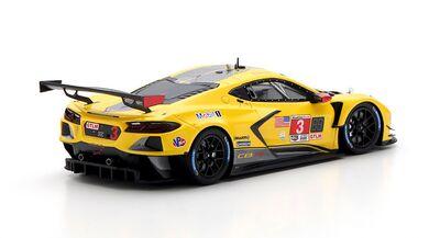 TSM-Models TSM430550 Chevrolet Corvette C8.R #3 Corvette Racing 'Nicky Catsburg - Antonio García - Jordan Taylor' Winner GTLM cl IMSA 24Hrs of Daytona 2021
