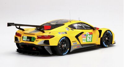 Top Speed TS0380 Chevrolet Corvette C8.R #63 Corvette Racing 'Antonio García - Jordan Taylor - Nicky Catsburg' 2nd pl Le Mans GTE PRO 2021
