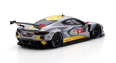 TSM Model TSM430551 Chevrolet Corvette C8.R #4 Corvette Racing 'Tommy Milner - Nick Tandy - Alexander Sims' IMSA 2nd Place GTLM cl 24Hrs of Daytona 2021