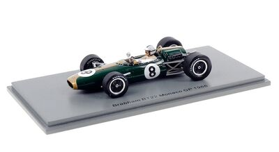 Spark Model S7091 Brabham BT22 #8 'Denny Hulme' GP of Monaco 1966