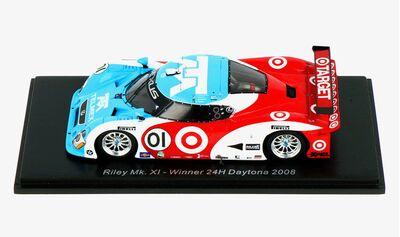 Spark Model 43DA08 Riley MK 11 #01 'Scott Pruett - Memo Rojas - Juan Pablo Montoya - Dario Franchitti' Winner pl 24 hrs of Daytona 2008