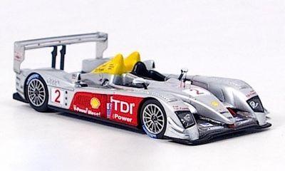 "Spark Model S0678 Audi R10 TDI #2 ""Rinaldo Capello - Tom Kristensen - Allan McNish"" winner 12 hrs of Sebring 2006"