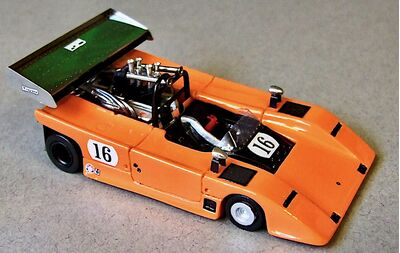 Marsh Models MM313B AVS Shadow #16 'George Follmer' DNF Can-Am Mont-Tremblant at St. Jovite 1970